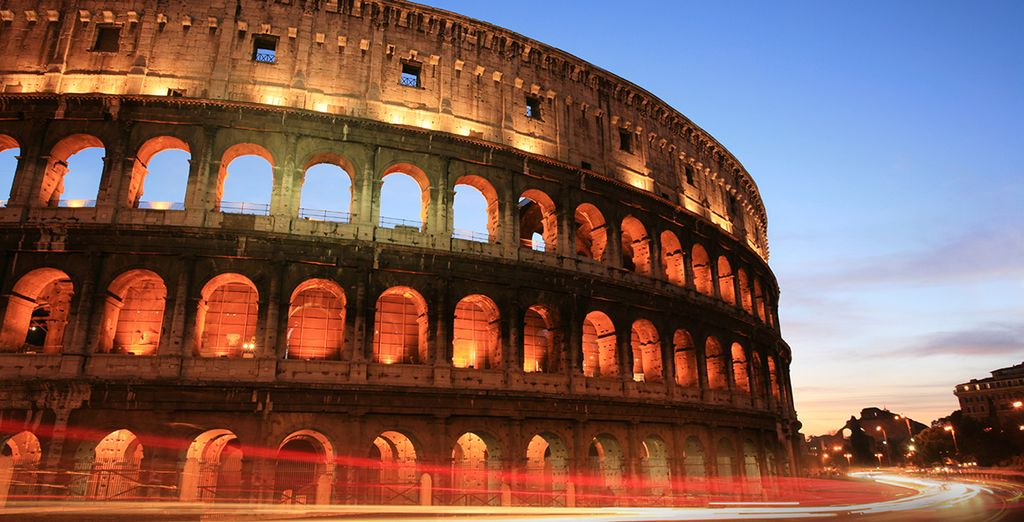 Ne roulez pas trop vite, vous allez manquer le Colisée...
