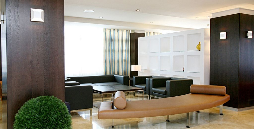 Appréciez la décoration chic et épurée de l'hôtel