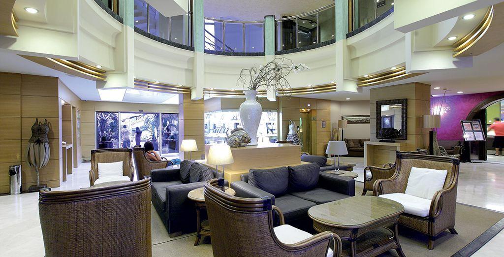Pour cela rendez-vous à l'hôtel Grand Cettia 4*