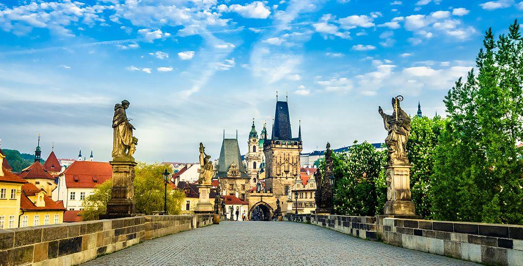 Découvrez les merveilles de Prague...