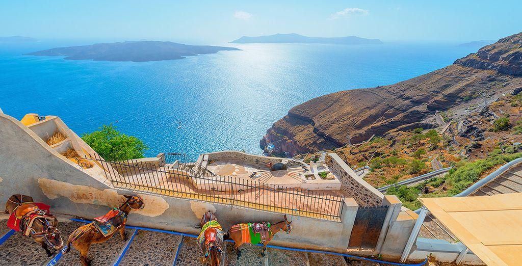 Une île splendide de Grèce
