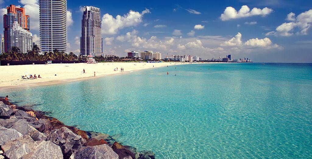 Photographie des belles plages de Miami Beach aux Etats-Unis
