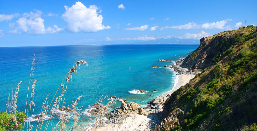 Paysages en Italie à Briatico