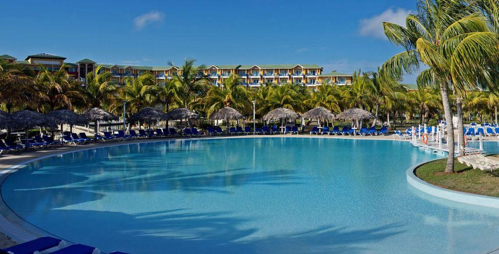 Où vous pousserez les portes de l'hôtel Melia Las Antillas