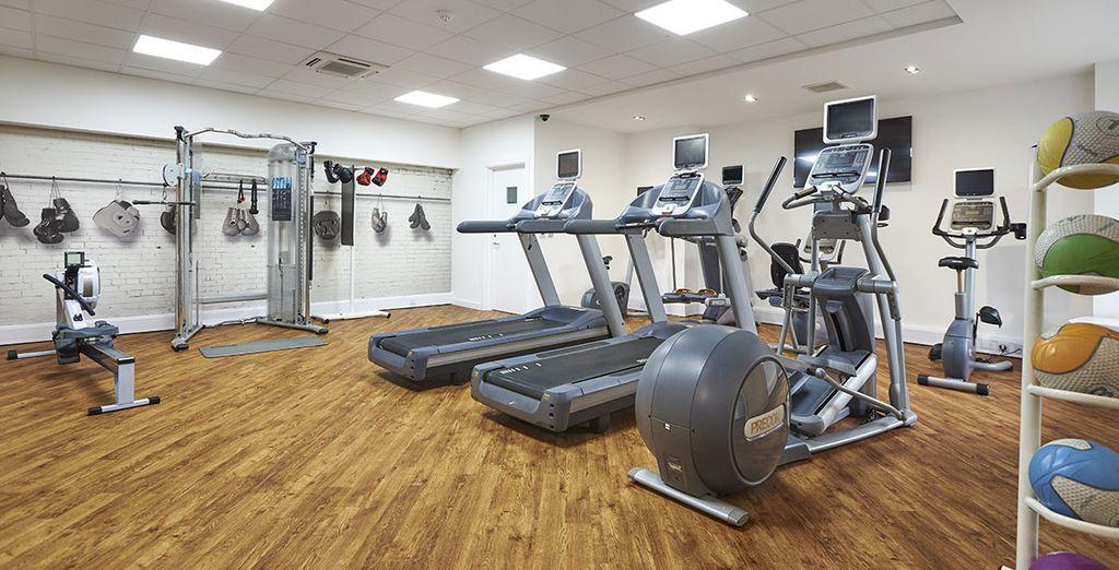 Vous pourrez faire un peu de sport dans la salle de fitness...