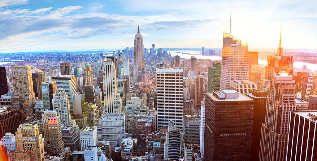 Mais aussi de l'Empire State Building !