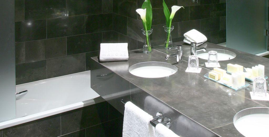 Profitez du luxe de sa salle de bain