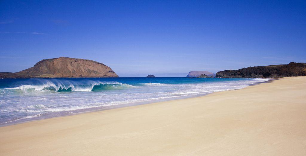 Et où les plages de sable blond semblent sans fin