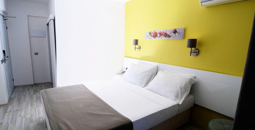 Votre chambre vous invite à l'évasion...