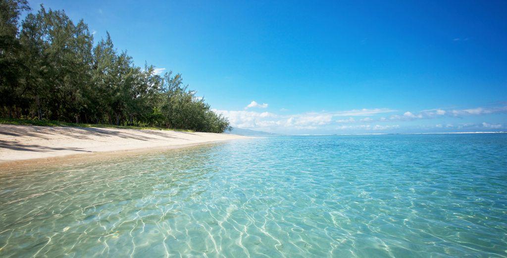 Puis faites une pause rafraîchissante dans le lagon...
