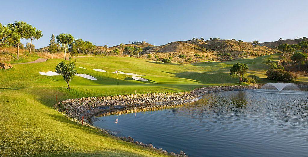 un magnifique golf vous attendra