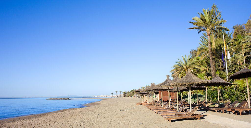 Enfin, durant votre séjour, prenez la direction de la plage