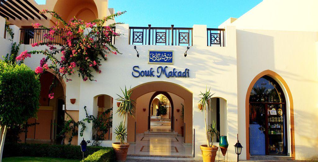 Et le Souk Makadi, à deux pas de l'hôtel