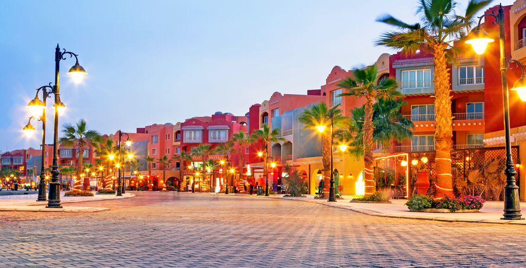Visitez la ravissante ville d' Hurghada