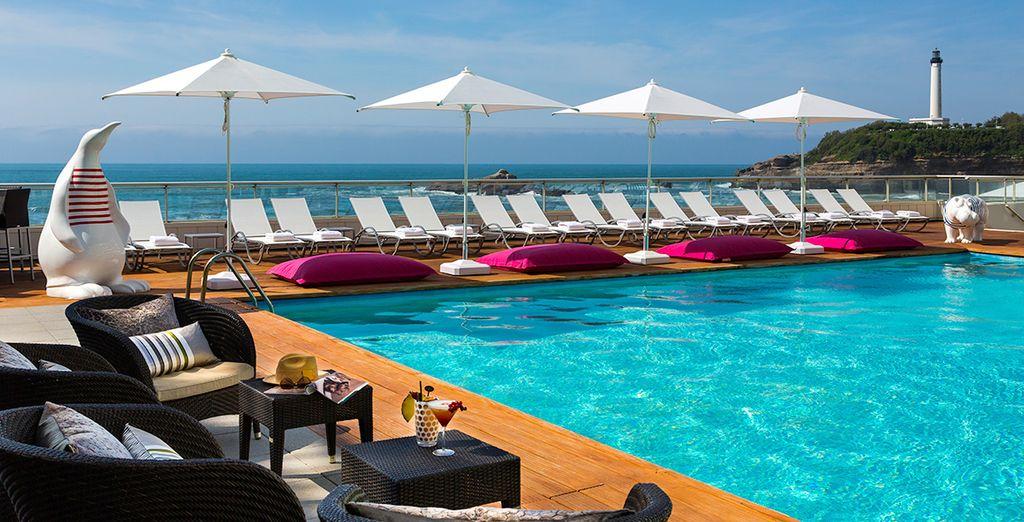 Le Sofitel Biarritz le Miramar Thalassa sea & spa vous accueille