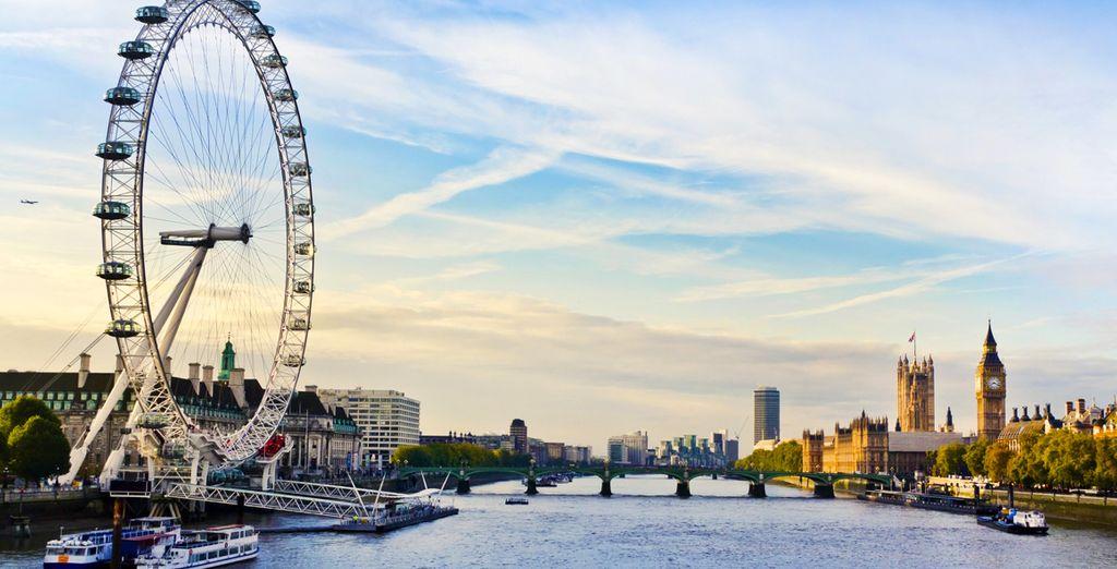 Avant de prendre de la hauteur au London Eye