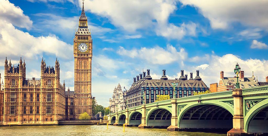 Très bon séjour à Londres !