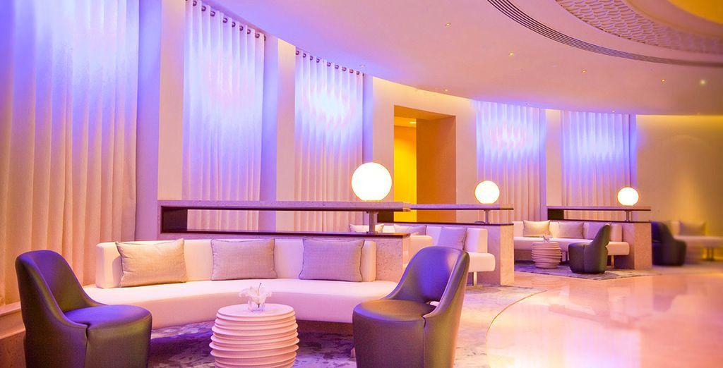 Tout commence au JA Ocean View Resort 4* dans le quartier de Jumeirah