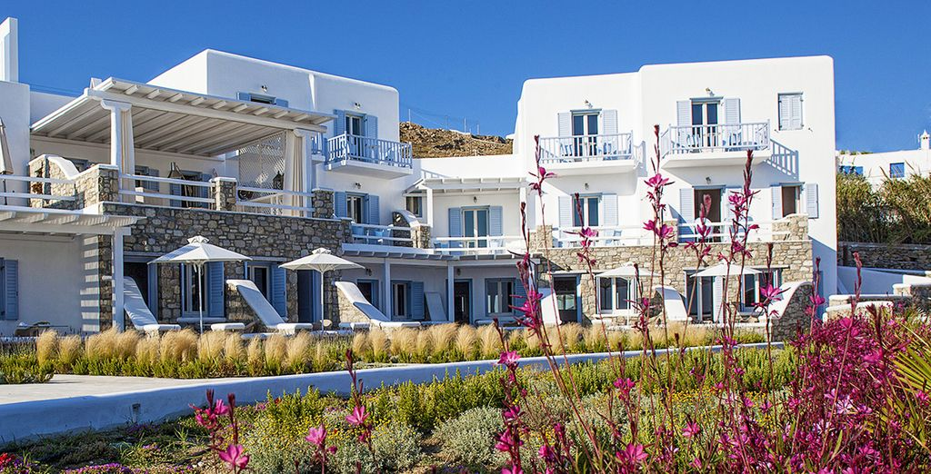 Un hôtel 4* au charme typique de Mykonos