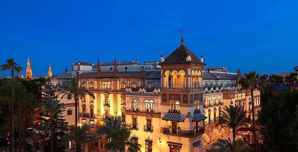 Bon séjour à l'hôtel Alfonso XIII