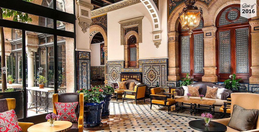 L'hôtel Alfonso XIII vous accueille