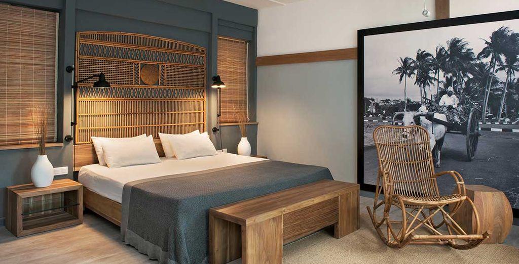 Choisissez la Suite Couple au décor élégant