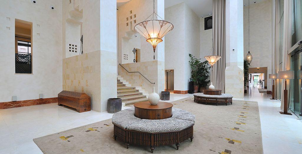 Un établissement majestueux - Hôtel Vincci Seleccion Estrella del Mar 5* Marbella