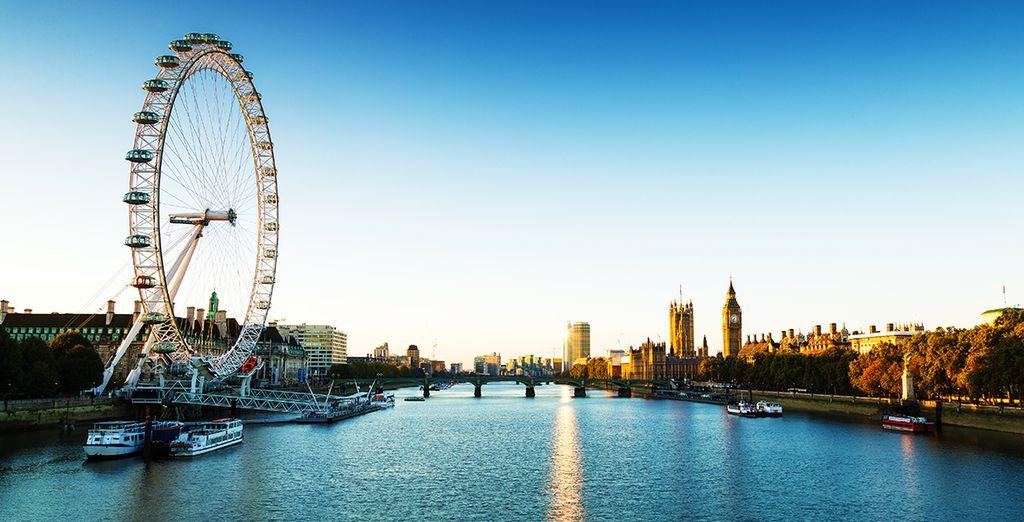 Depuis lequel vous découvrirez Londres sous toutes ses coutures ?