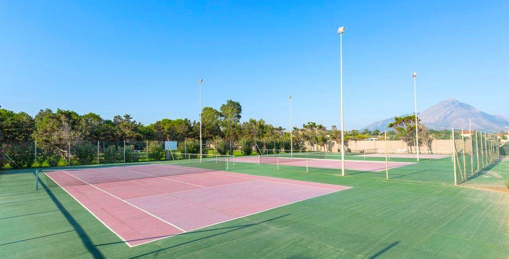 Faites quelques parties de tennis