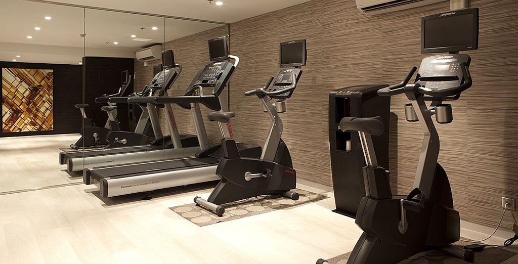 Pourquoi ne pas poursuivre votre journée avec un peu d'exercice ?