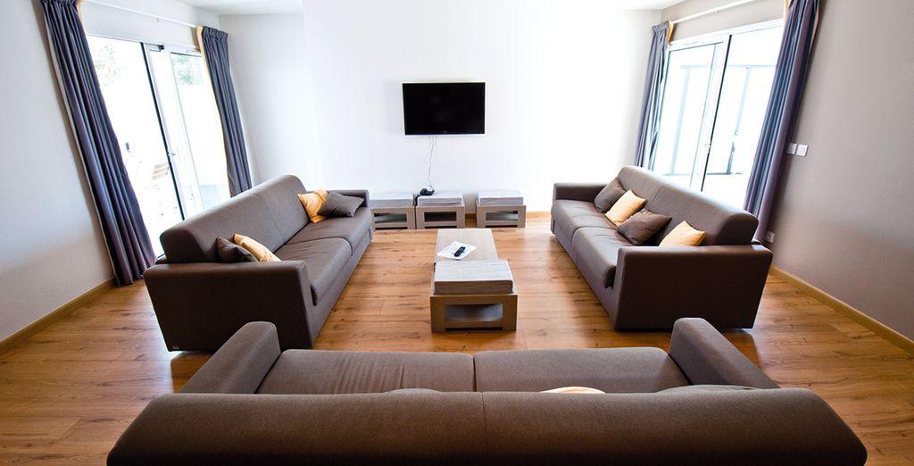 Vous allez adorer votre appartement spacieux