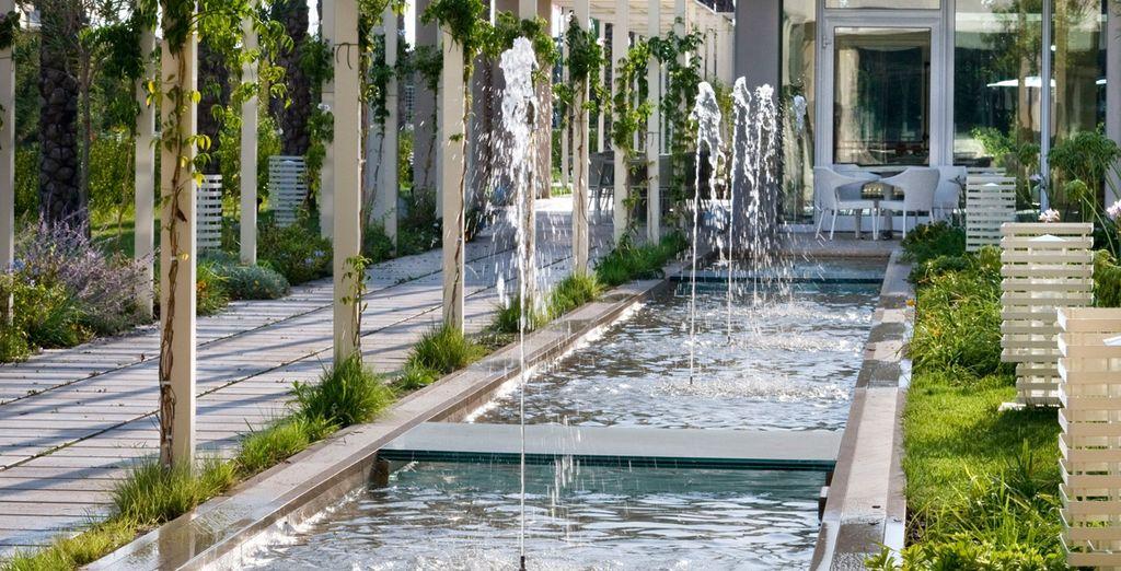 Ces jardins vous inviteront à la rêverie...