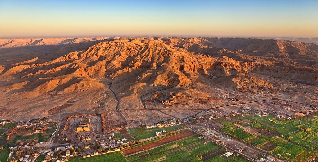 Et découvrez les merveilles de la vallée du Nil