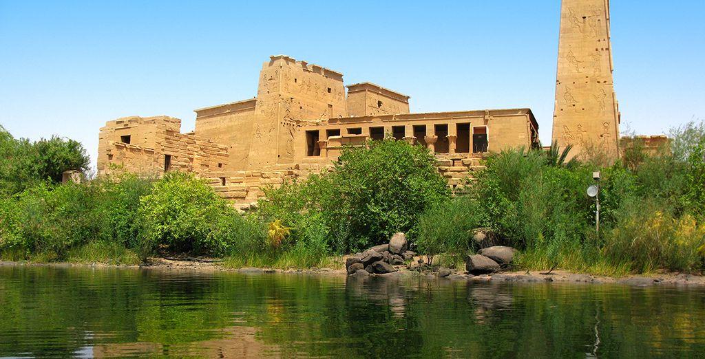 Philae, le temple d'Isis...