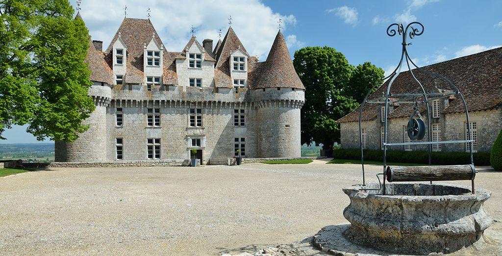 Le château de Montbazillac...