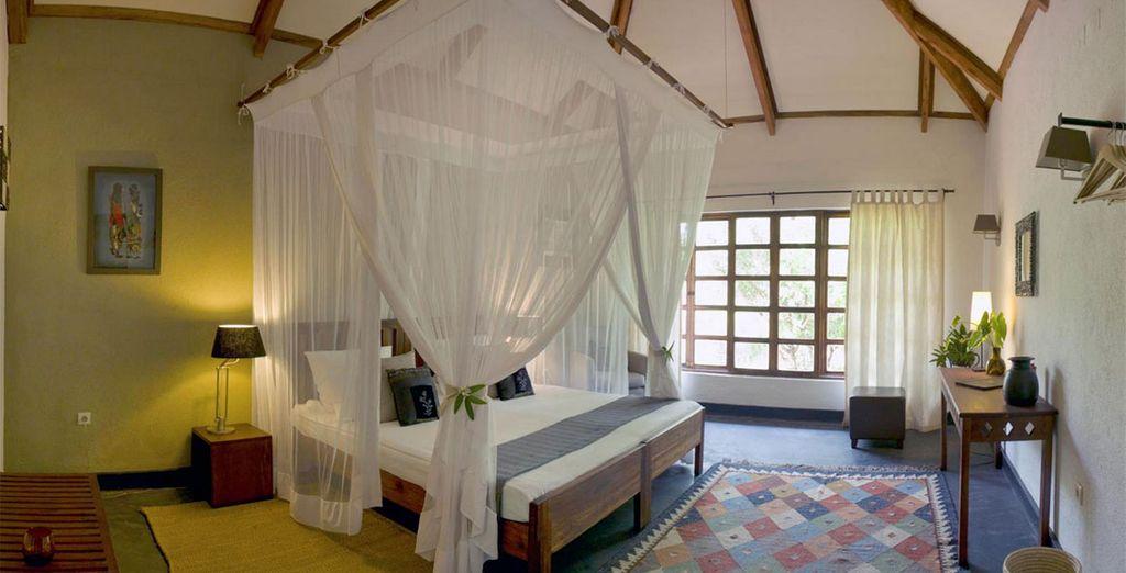 Comme au Bashay Rift Lodge