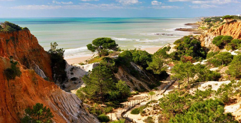 situé en Algarve.