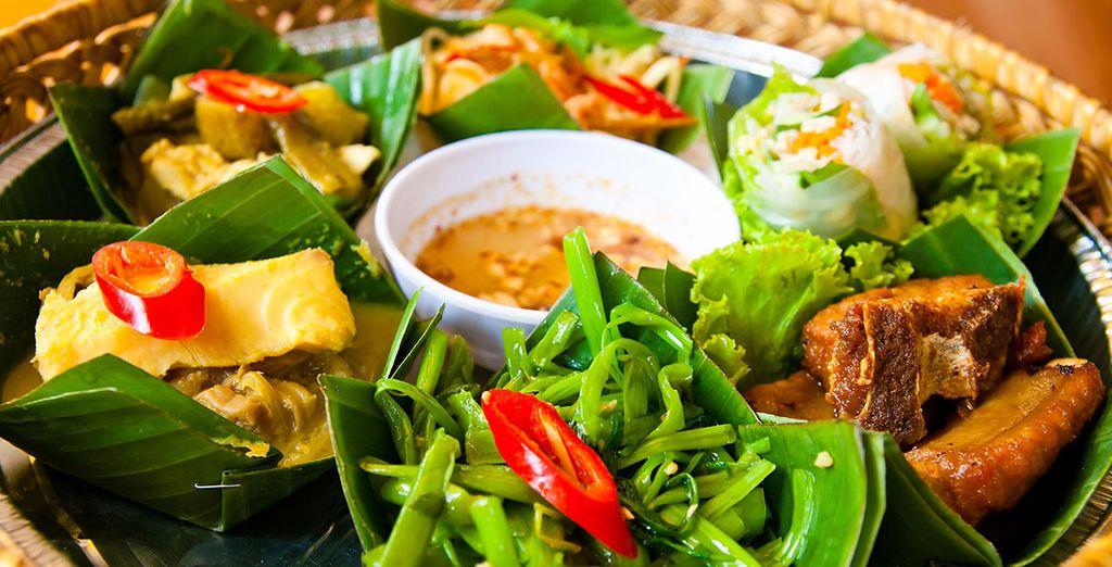 Dégusterez les spécialités de la cuisine locale