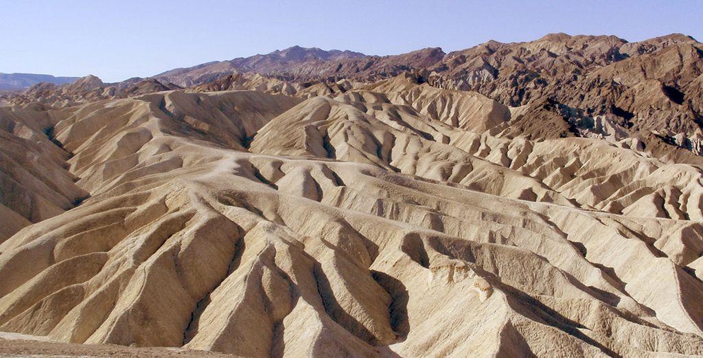 Changement de décor dans la Vallée de la Mort