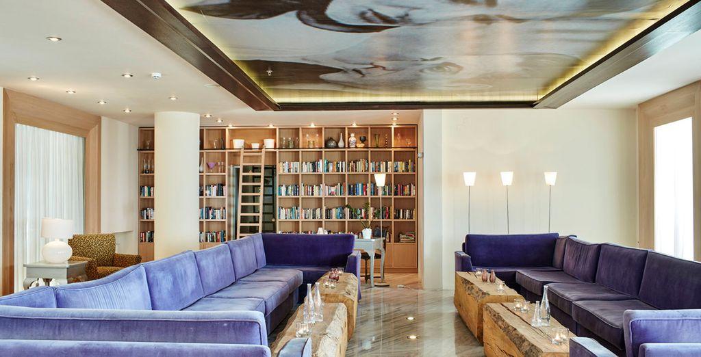 ... Au cœur d'un hôtel moderne et design ?