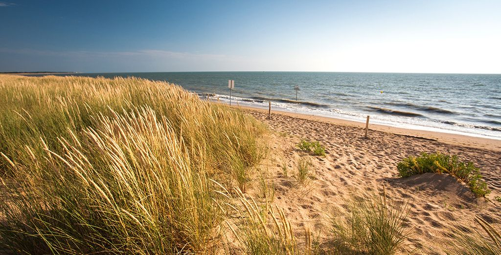 Partez à la découverte des plage de la région
