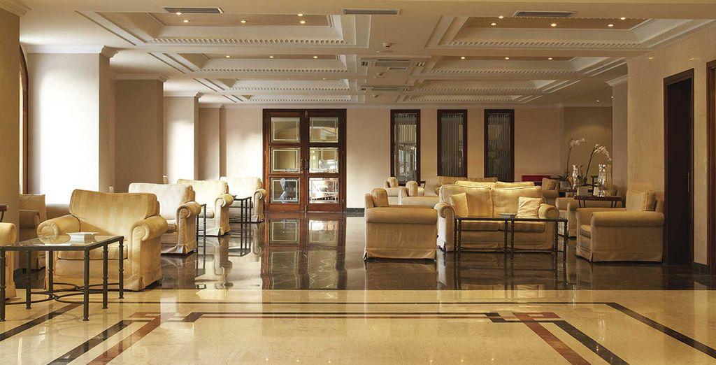 ... De votre superbe hôtel 4*...