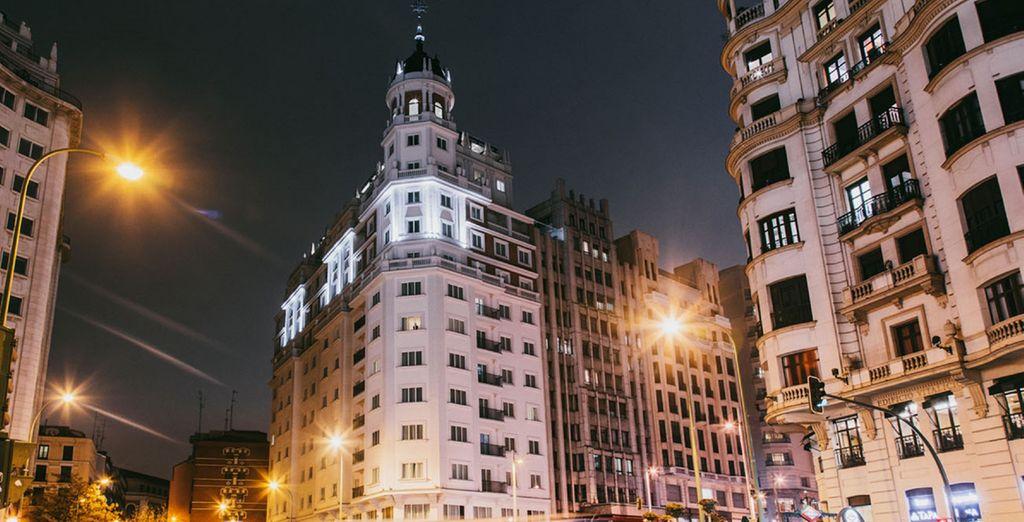 Un établissement situé dans le centre de la capitale