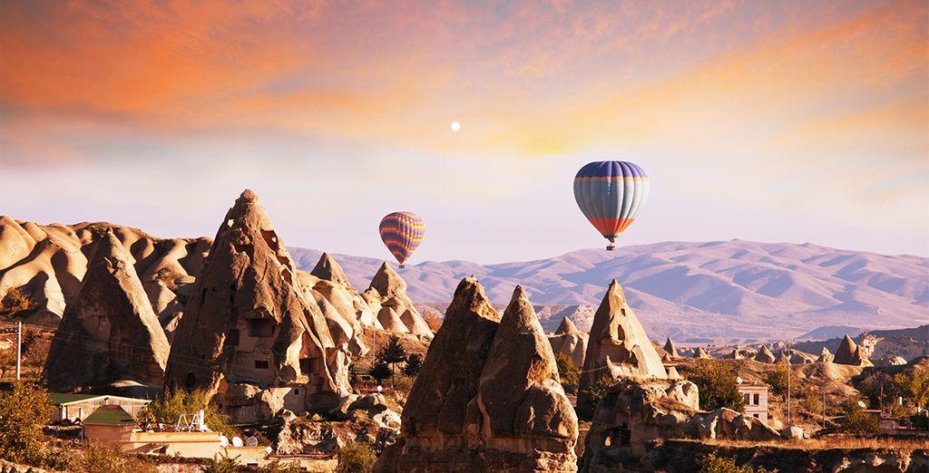 Aux merveilles de la Cappadoce...