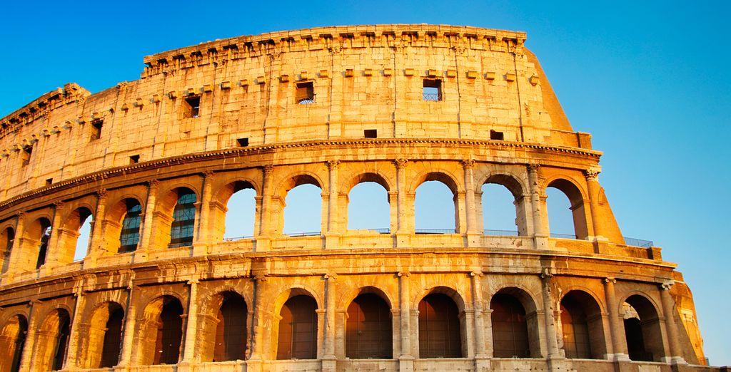 Visitez le fameux Colisée