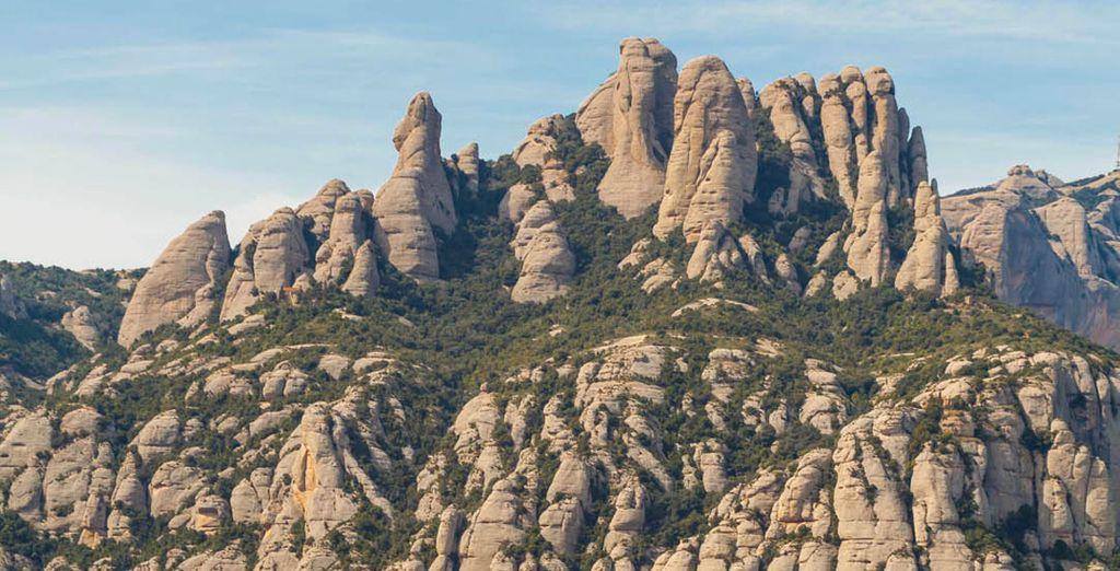 Jusqu'aux montagnes du Montserrat