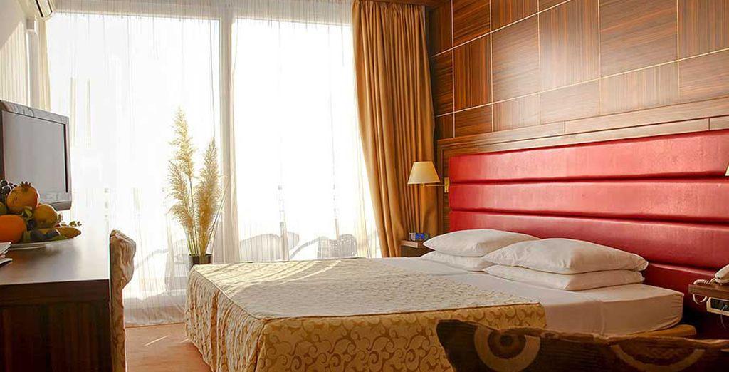 Où nous vous avons réservé une confortable chambre Standard