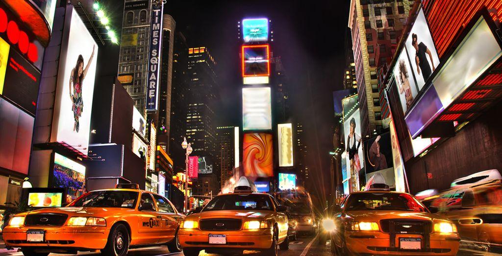 Et à quelques blocks de Times Square...