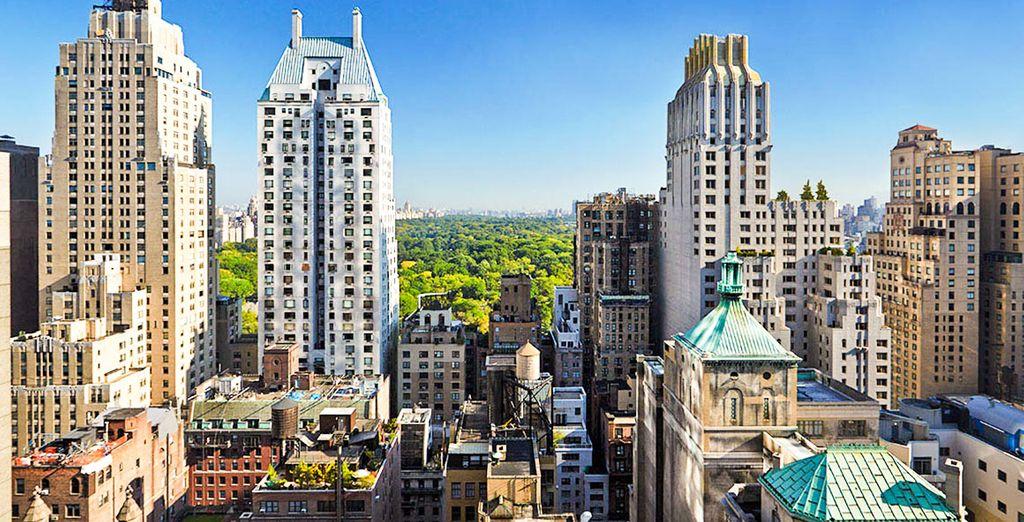 Bienvenue à Manhattan, au cœur de New York