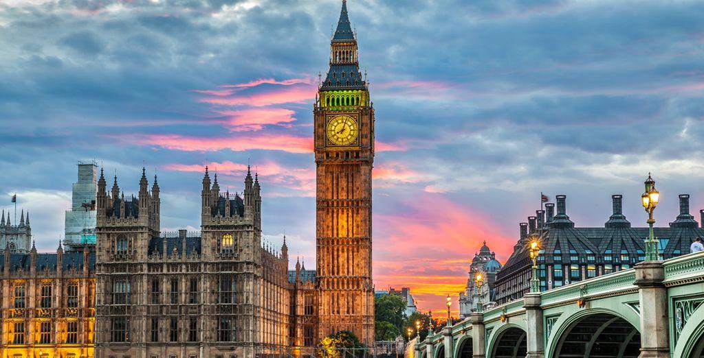 Et partez à la rencontre de la Belle Londres, ville lumière et cosmopolite